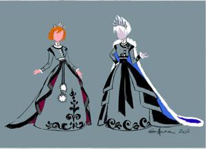 फ्रोज़न Concept Art