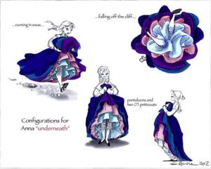 ফ্রোজেন Concept Art
