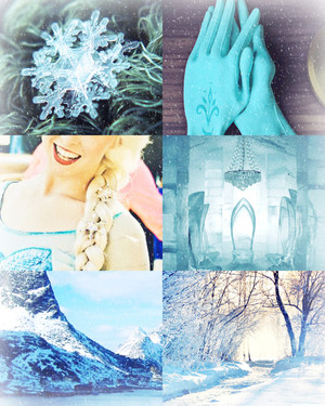 La Reine des Neiges - Elsa Aesthetics