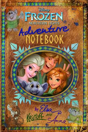 Frozen Northern Lights - Adventure Book