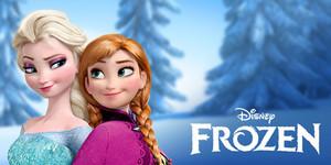 frozen Princess Elsa and Anna