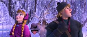 Walt 디즈니 Screencaps - Princess Anna, Sven & Kristoff Bjorgman