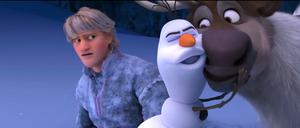 Walt ডিজনি Screencaps - Kristoff Bjorgman, Olaf & Sven