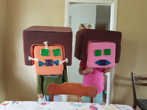 Funny Stampy Heads