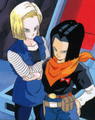 Future android 18 and Future Android 17