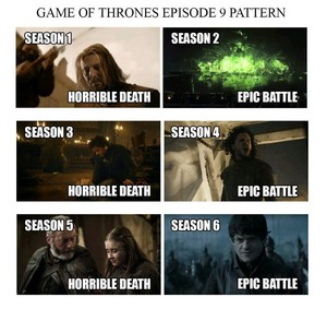 Game of Thrones Episode 9 Pattern