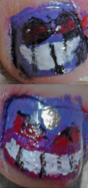 Gengar Nails