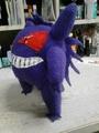Gengar Plushy  2  - pokemon fan art