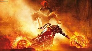 Ghost Rider Dark Comics Games Evil Liebe Romance Chopper Motorräder Art Skull Demon HD Resolution
