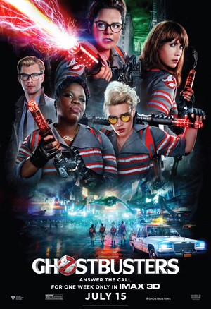 Ghostbusters (2016) Poster - IMAX