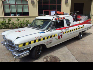 Ghostbusters Hawaii Division's Ecto Truck!