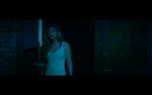 Gigi in Calvin Harris' How Deep Is Your Love موسیقی Video