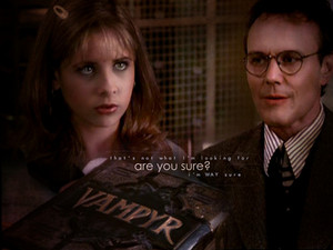 Giles and Buffy 2