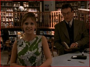 Giles and Buffy 5