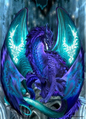 Glowing dragon