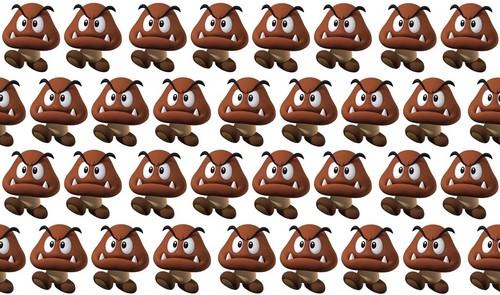 Super Mario Bros wallpaper entitled Goomba