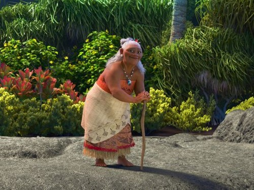 Disney's Moana wallpaper titled Gramma Tala