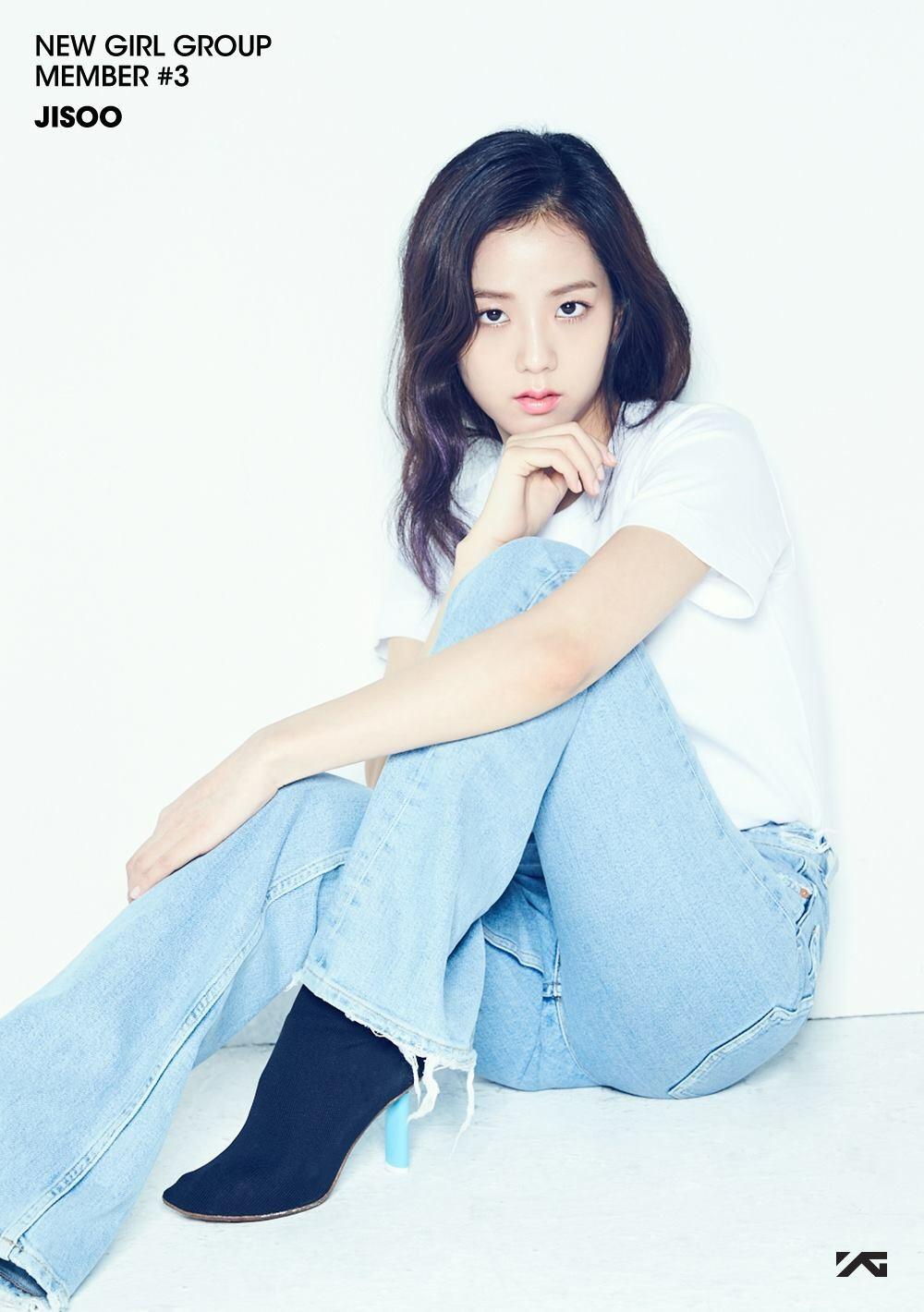 BLACK rosado, rosa | Member #3 - Jisoo