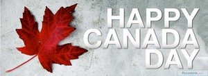 Happy Canada's Day Banner!