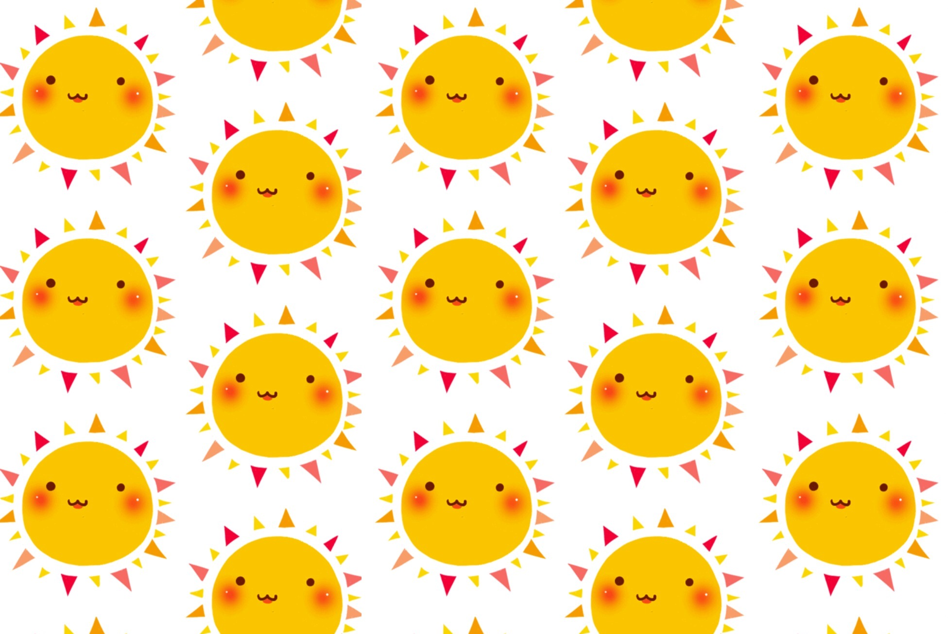 Happy suns wallpaper