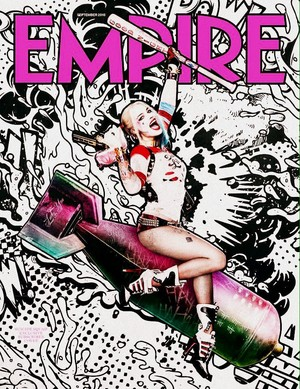 Harley Quinn on the cover of Empire Magazine - September 2016