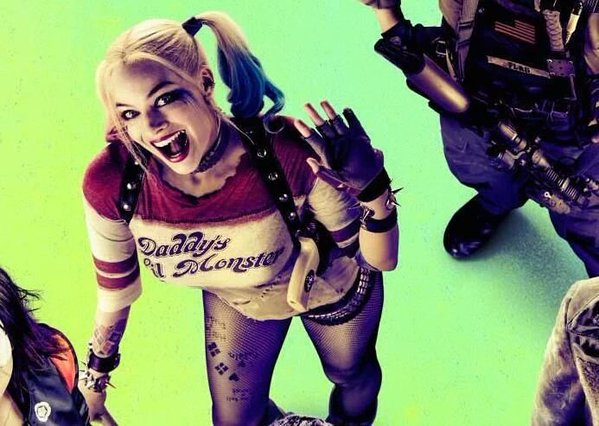 022da619 Harley Quinn achtergrond with a jager, schutter and anime called Harley