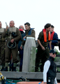 Harry on Dunkirk set - harry-styles photo