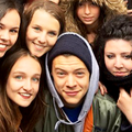 Harry with fans - harry-styles photo