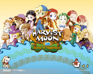 Harvest Moon Island of Happiness kertas dinding