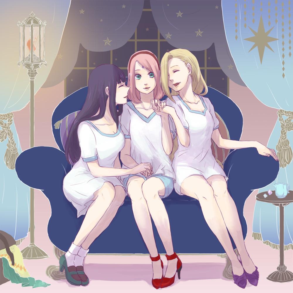 Hinata, Sakura and Ino // Naruto