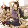 Hinata and Tenten // 火影忍者