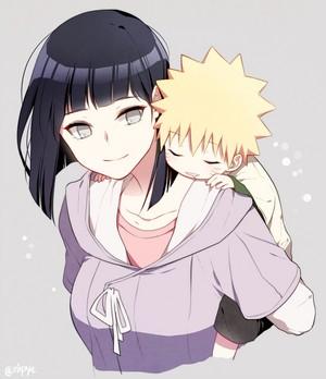 Hinata x Little Naruto // Naruto