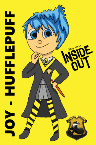 Inside Out achtergrond with anime entitled Hogwarts Yearbook Collab - Joy
