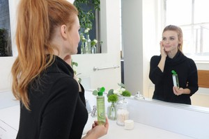 Holland Roden for Simple Skincare