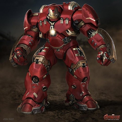 The Avengers kertas dinding called Hulkbuster