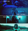 I Knew You Were Trouble - taylor-swift fan art