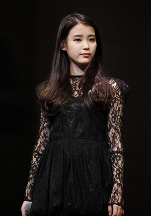 IU Black Dress