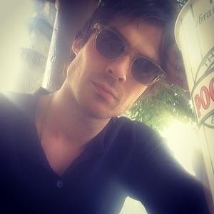 Ian Somerhalder selfie