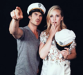 Ian and Candice - the-vampire-diaries-tv-show photo