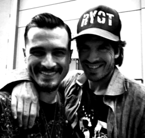 Ian and Michael Malarkey