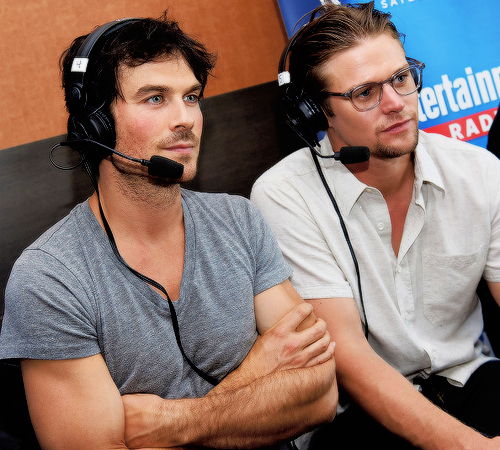 Ian and Zach