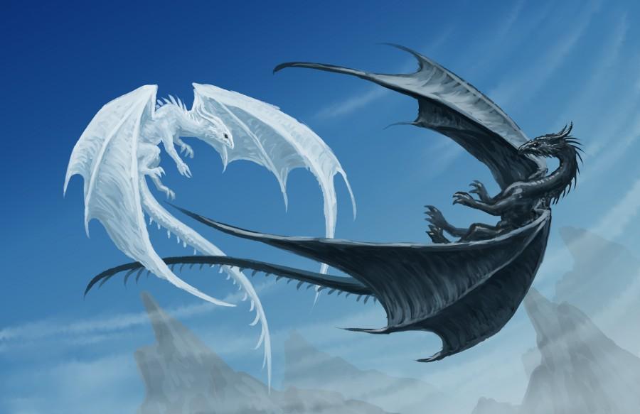 Ice dragon vs Night dragon
