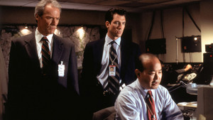 In the Line of आग 1993 (Secret Service Agent Frank Horrigan) w-Dylan McDermott and Clyde Kusatsu�