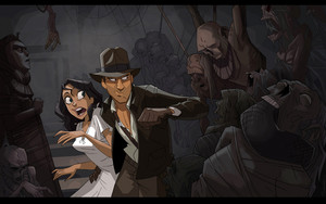 Indiana Jones (Animated Style)