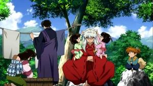 Inuyasha,Sango twins Miroku Shippo