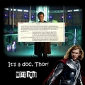 It s a doc  Thor - doctor-who fan art