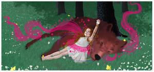 Jacob/Nessie Fanart - Springtime