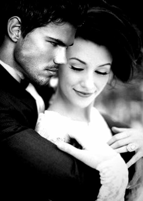 Jacob/Nessie Wedding Fanart - Jacob Black and Renesmee
