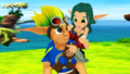 Jak and Keira Romances in Sandover Village - jak-and-daxter photo