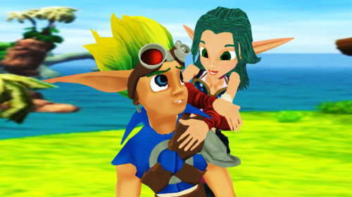 Jak And Daxter The Precursor Legacy Hd Wallpaper: Jak And Daxter Images Jak And Keira Romances In Sandover